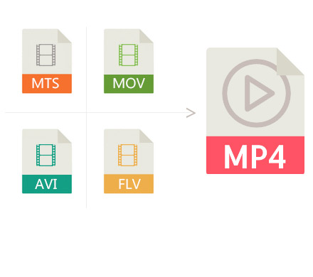 2.	Convert other videos to MP4