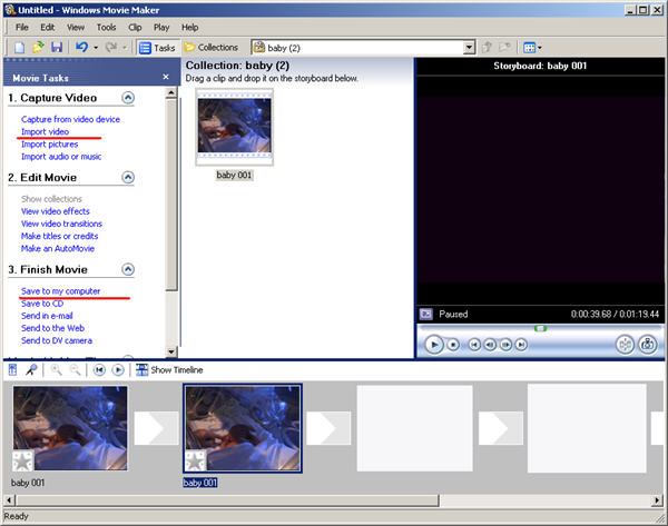 Windows movie maker for dvd