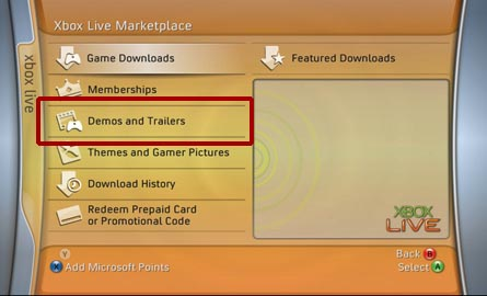Download Xbox 360 video