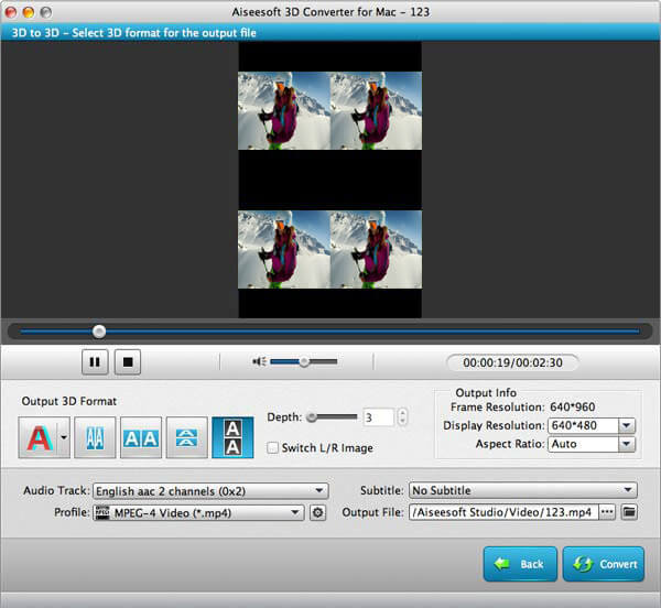 customize the video effect
