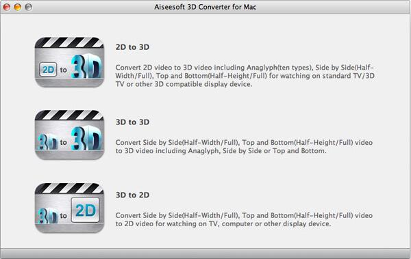 3D Converter per Mac