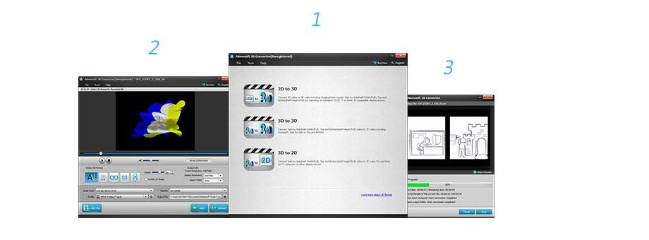 Konwertuj wideo 3D