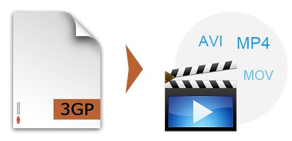 3GP σε AVI / MOV / MP4