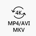 4K a formati popolari
