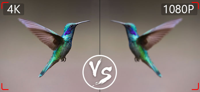 4K vs 1080p \u2013 Easily Get Differences between 4K and 1080p