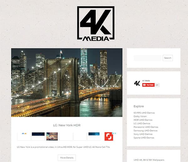 Easy to Free Download 4K Video Samples and Footages