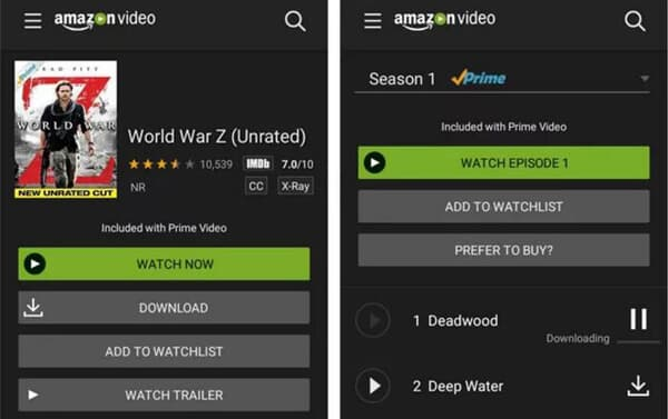 Scarica Amazon Instant Video su Android