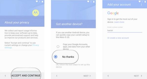 Προσθέστε λογαριασμό Google στο νέο σας τηλέφωνο