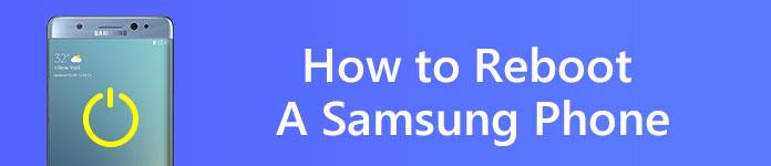 Riavviare il telefono Samsung