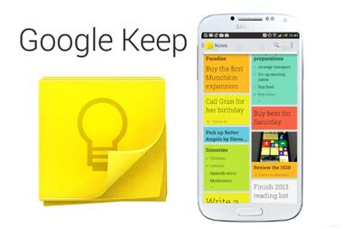 Καλύτερη εφαρμογή λήψης σημειώσεων για Android - Google Keep