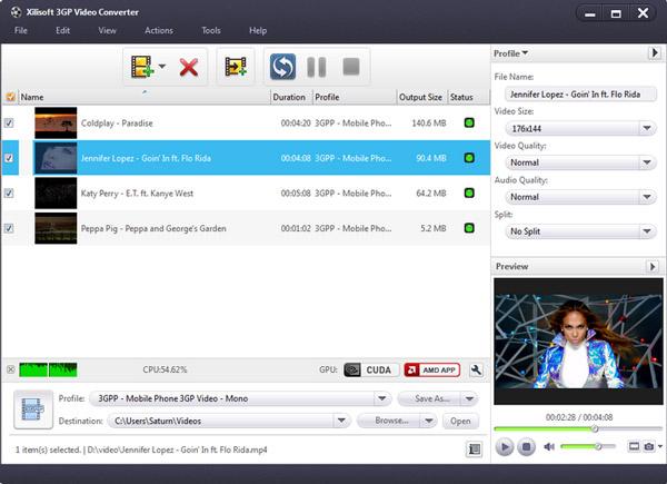 Μετατροπέας βίντεο Xilisoft 3GP