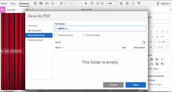 save files as pdf free
