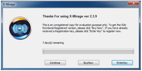 Uruchom X Mirage