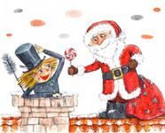 Katie i świąteczny komin