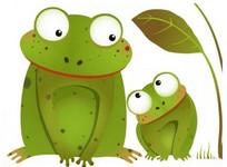 Dwie żaby i studnia