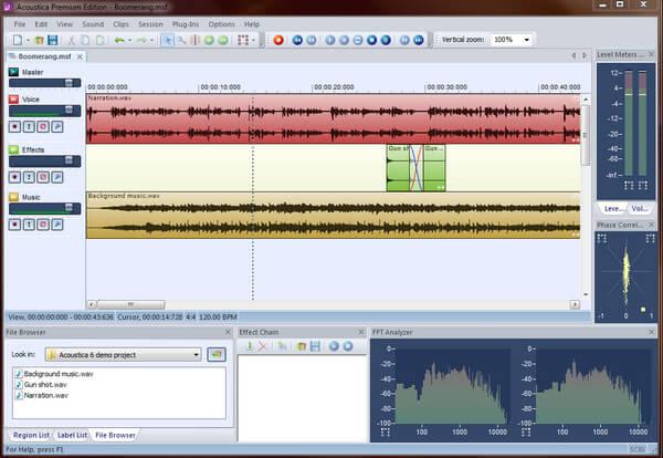 Acoustica Basic-editie