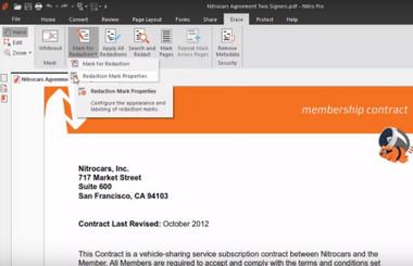 Πρόγραμμα επεξεργασίας PDF Nitro