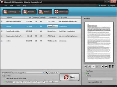 Aiseesoft Μετατροπέας PDF Ultimate