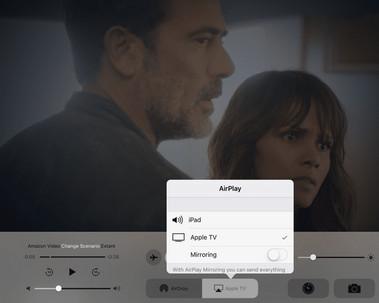 Συνδέστε το iPad στο Apple TV με το AirPlay
