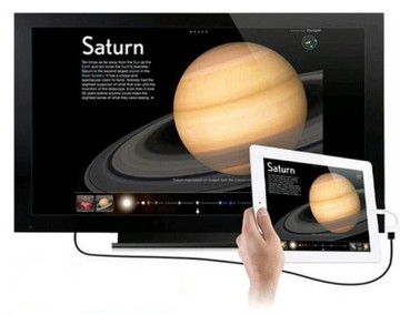 Συνδέστε το iPad στην τηλεόραση