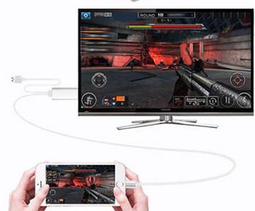 Collega l'iPad alla TV con l'adattatore da Lightning a VGA