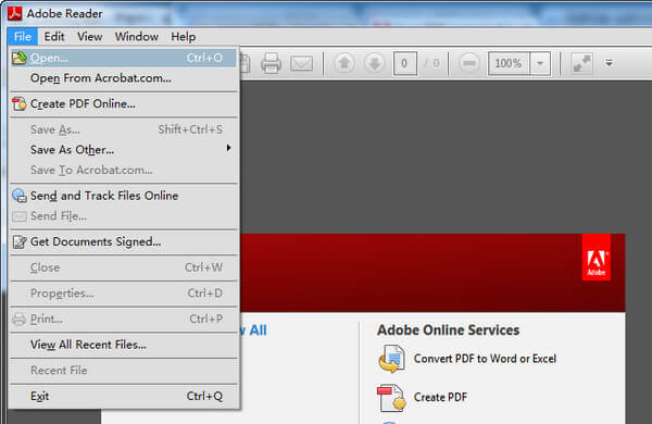 xps to pdf and crop online