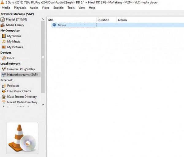Zagraj w VLC na urządzeniu