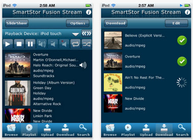 SmartStor Fusion Streaming