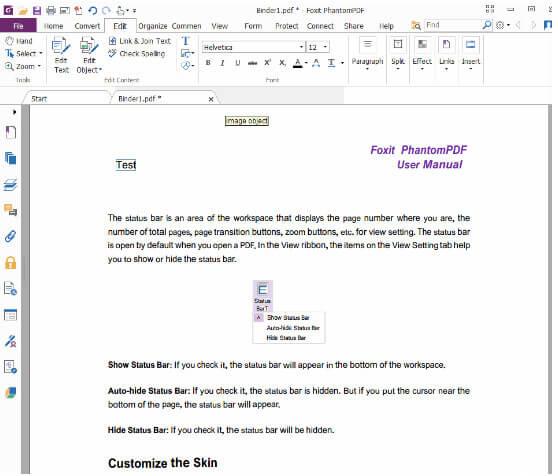Aggiungi testo in PDF