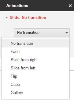Μετάβαση στο Google Slides