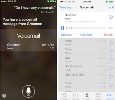 Ascolta la segreteria di iPhone