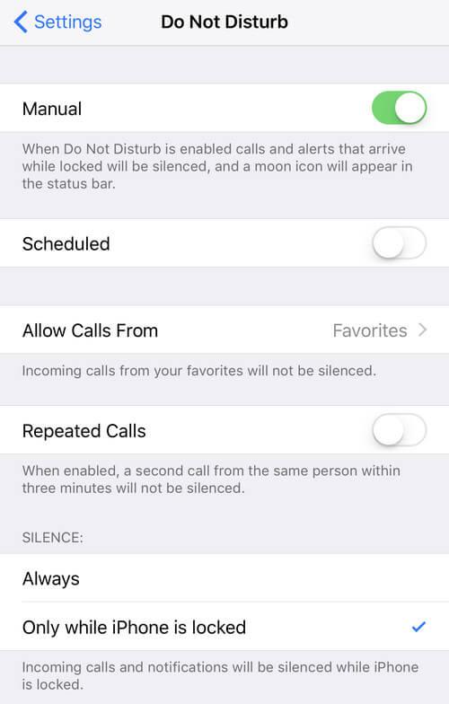 Invia chiamate Voicemail