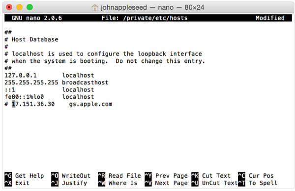File host su Mac