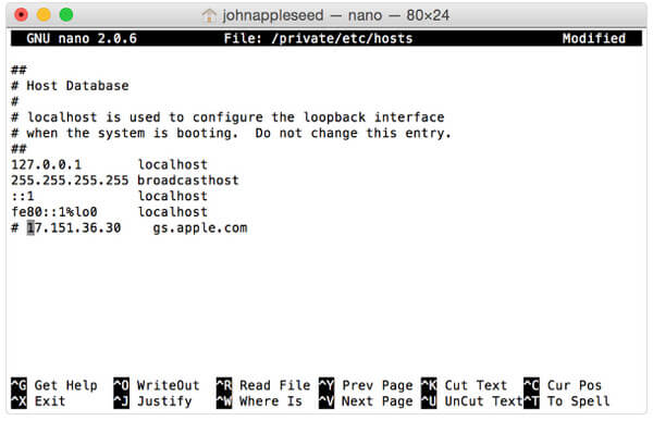 File host su Mac