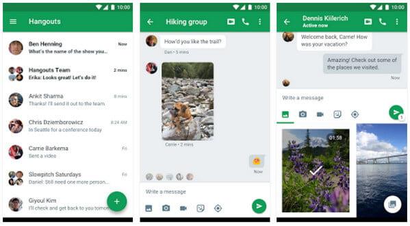 Εφαρμογή Google Hangouts Messenger
