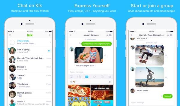 Εφαρμογή Kik Messenger