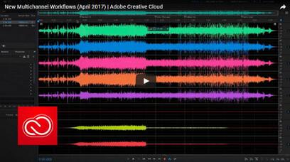 Adobe Audition - Editor audio professionale
