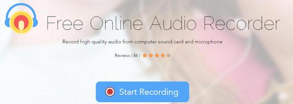 Registratore audio online gratuito