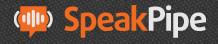 SpeakPipe registratore vocale