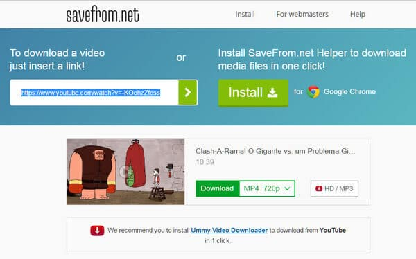 Online YouTube Downloader – Download YouTube Videos to MP4/MP3