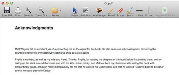PDF-editor Mac