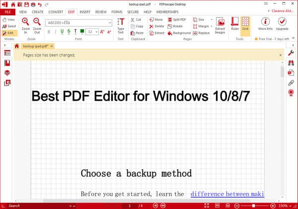 Top PDF Editor for Windows 10/8/7 Free Download