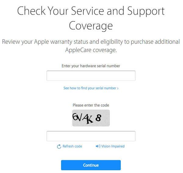 Controlla il numero di serie dell'iPhone