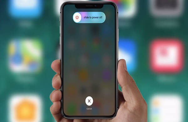 Uruchom ponownie telefon iPhone X
