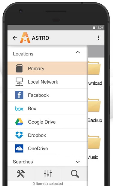 Alternativa a Root Explorer - File Manager ASTRO
