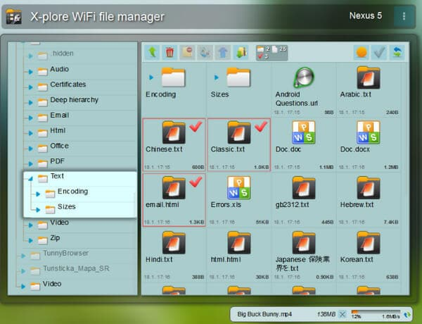 Alternativa a Root Explorer - X-plore File Manager
