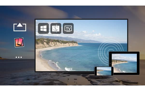 Screen mirroring iphone mirror iphone to apple tv mac pc for Mirror iphone to tv