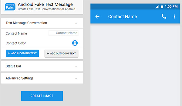 free send fake text message online from a fake number iphone android