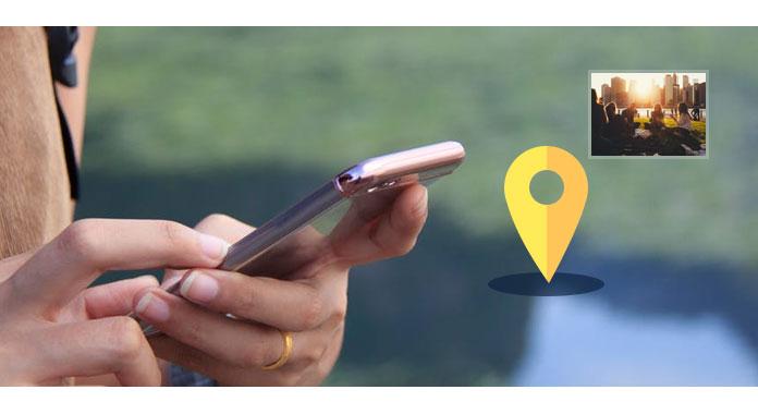Odeslat umístění iPhone