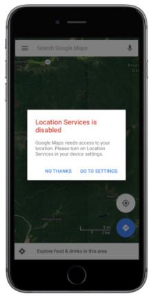 Sdílet polohu s nastavením Map Google